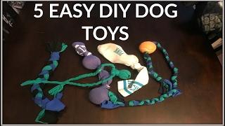 5 Super Easy DIY Dog Toys