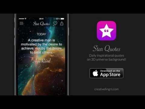 Star Quotes for iPhone & iPad