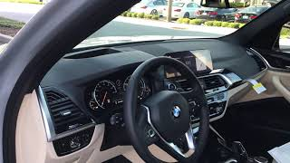 2019 BMW X3 sDrive walk through