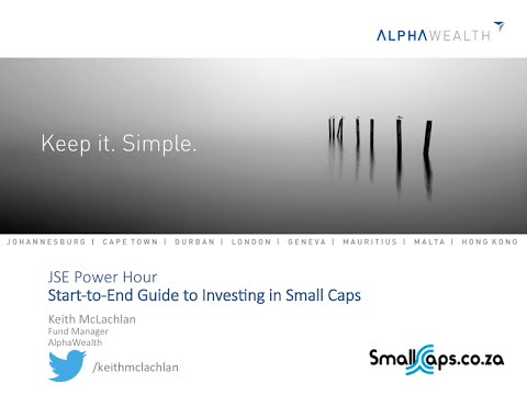 JSE Power Hour: Building a small cap portfolio