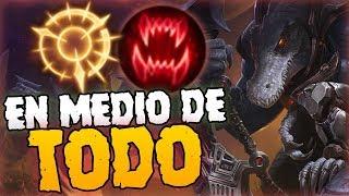 ¡CURACIONES SIN SENTIDO! - ¡EN MEDIO DE TODO! | RENEKTON TOP RUNAS NUEVAS