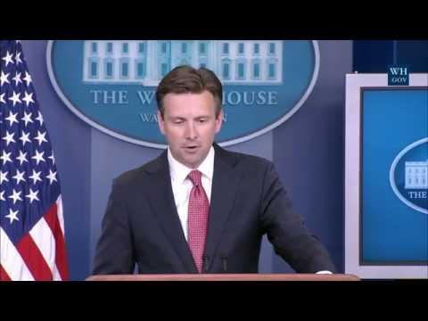 8/26/16: White House Press Briefing