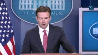 8/26/16: White House Press Briefing
