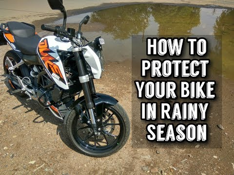 How to Maintain Your Bike In Rainy Season | KTM Duke 200 |