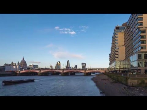 London Southbank Time Lapse