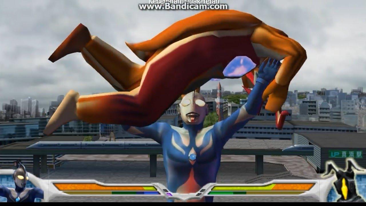 Download Game Ultraman Evolution 0 Ppsspp