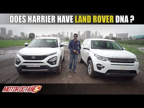 Does Tata Harrier have Land Rover DNA?   Hindi   MotorOctane