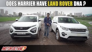 Does Tata Harrier have Land Rover DNA? | Hindi | MotorOctane