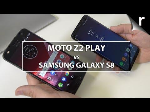 Moto Z2 Play vs Samsung Galaxy S8: Moto Mods vs Samsung flagship