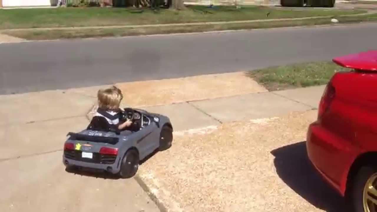 Avigo Audi R Volt To Volt Kidz Trax Modified YouTube - Audi r8 6v car