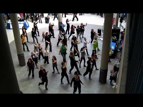 Flash mob in the Avalon Mall St John's NL