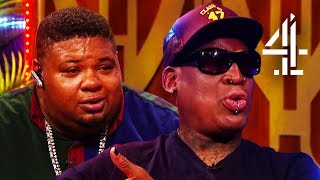 Dennis Rodman Emotional Talking About Relationship with Trump & Kim Jong-Un | The Big Narstie Show