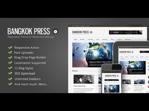 ★★★ Bangkok Wordpress Theme Tutorials