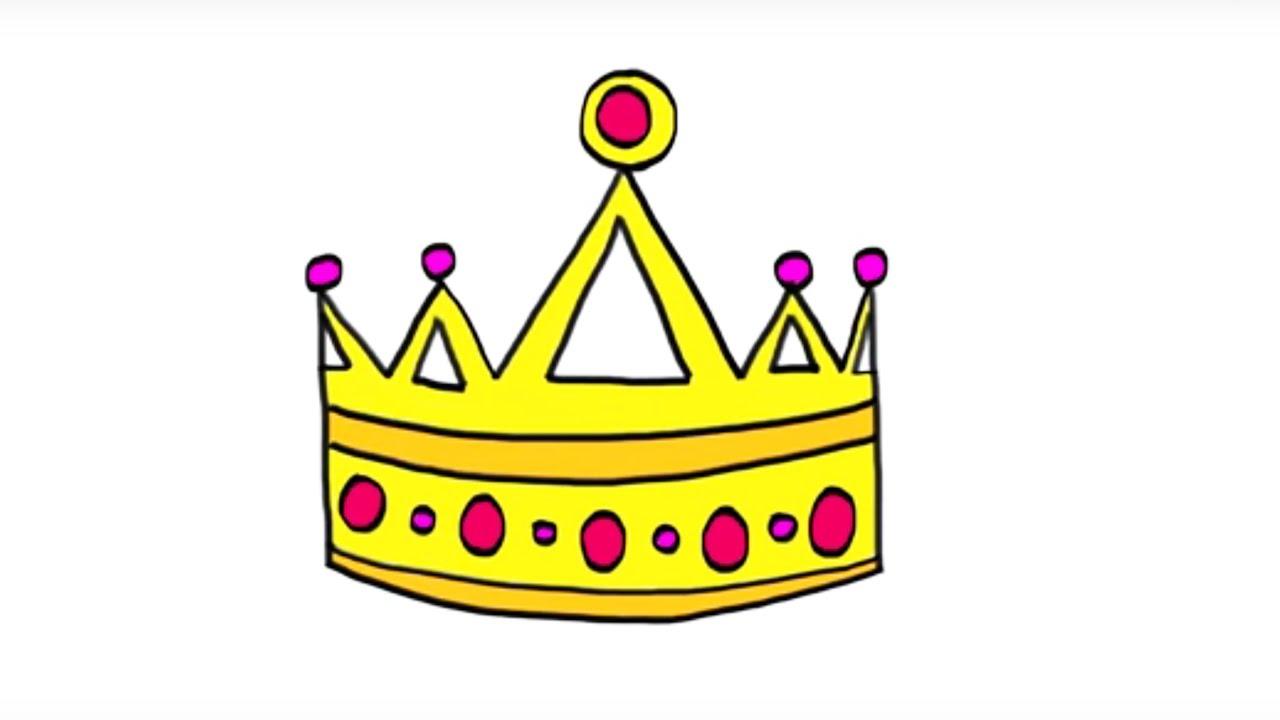 Comment dessiner une couronne youtube - Dessin couronne princesse ...