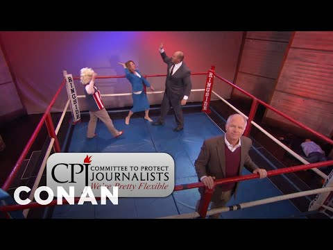 Donate To The Committee To Protect Journalists  - CONAN on T