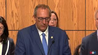Sen. Victory speaks at AG news conference on Elder Abuse Prevention