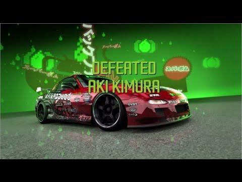 Need For Speed ProStreet - Defeating Aki Kimura (Drift King)