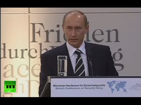 'Wars not diminishing': Putin's iconic 2007 Munich speech (FULL VIDEO)