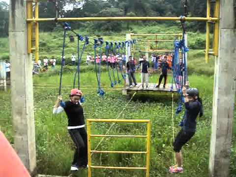 Falcon Crest Resort S Rope Courses At Ukg Donita And Rica Mpg Youtube