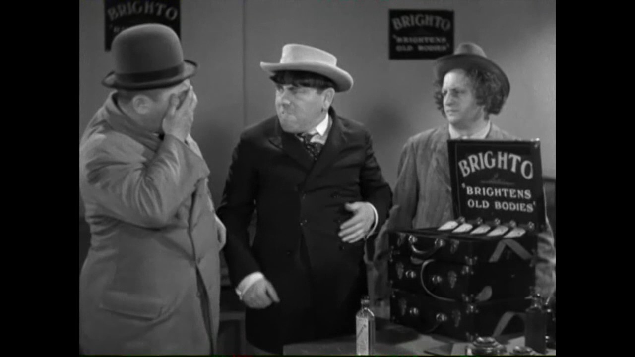 Image result for The Three Stooges: Dizzy Doctors (1937)