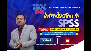 SPSS  - Independent Samples t-Test - By Muhammad Usman