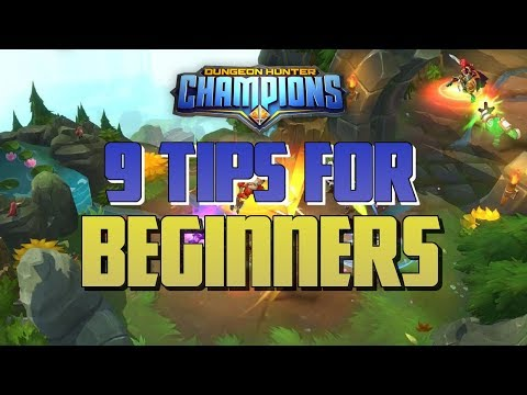 The Epic Journey Continues With 9 Tips For Beginners | Dungeon Hunter Champions