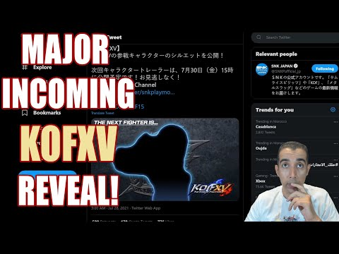 A Major KOFXV Reveal At ChinaJoy? Did Someone Say A Demo?  