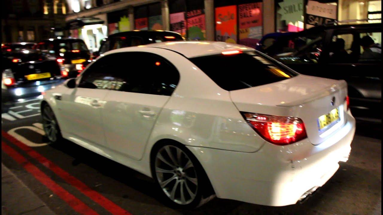 BMW 335I Horsepower >> Tuned BMW E50 E60 in London 2012 LOUD sound !!! - YouTube