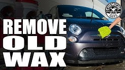 How To Remove Old Car Wax  - Chemical Guys Clean Slate