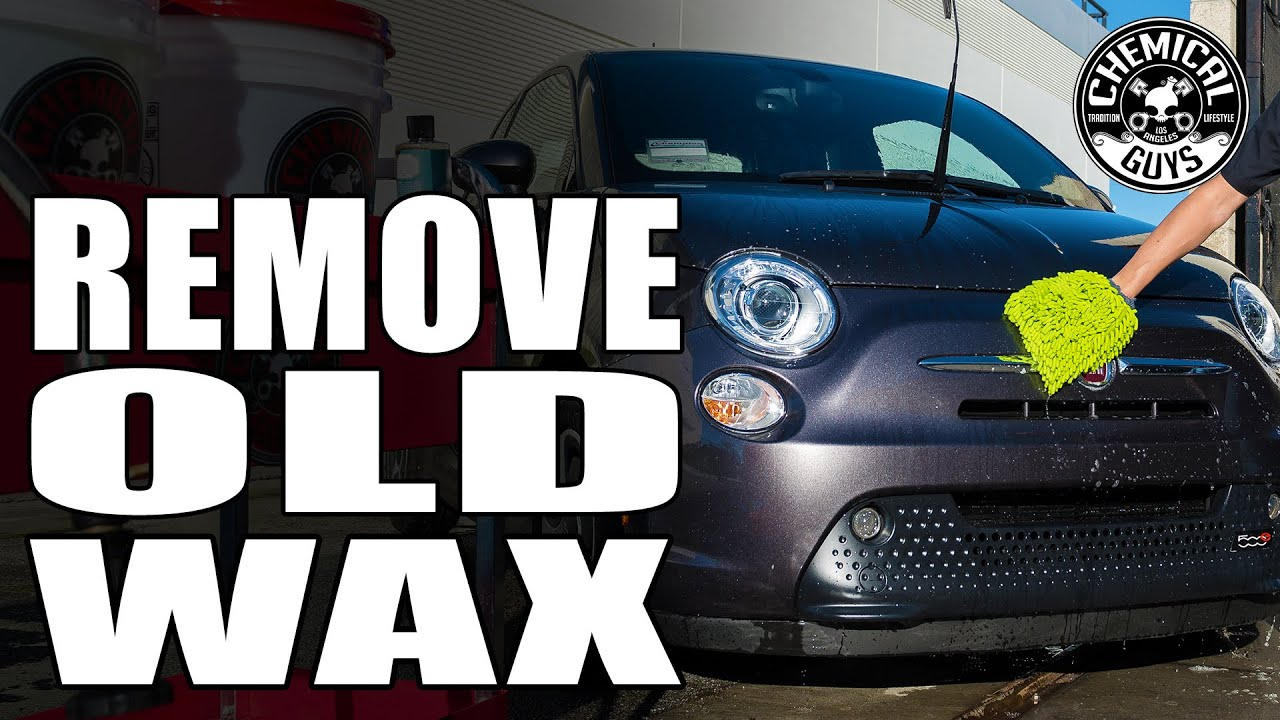how to remove old car wax chemical guys clean slate youtube. Black Bedroom Furniture Sets. Home Design Ideas