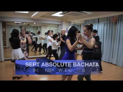 Bachata Absolute Beginners 4 Week Classes in September 2019