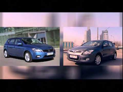 Наши тесты Европа против Азии Volkswagen Golf VI vs Hyundai i30