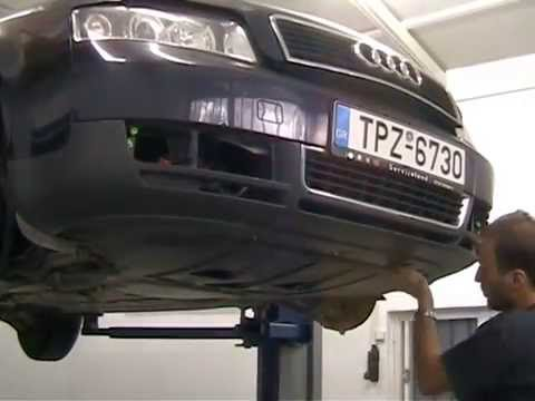Audi A4 1 9 Tdi 02 Remove Front Bumper Youtube