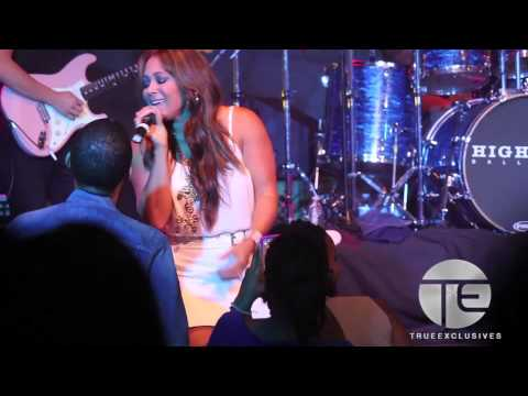 "Tamia Performs ""Stranger In My House"" LIVE at Highland Ballroom 2013"