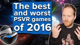 The best and worst PSVR games of 2016