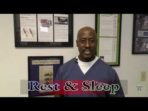 The Importance Of Rest/Sleep