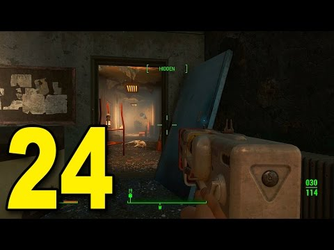 Fallout 4 - Part 24 - Hunting For Kellogg (Let's Play / Walkthrough / Gameplay)