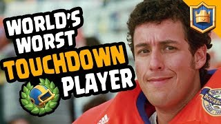 WORST TOUCHDOWN PLAYER IN THE WORLD... Bufarete Ft That One Guy - Clash Royale