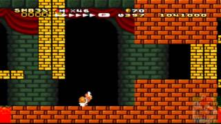Super Mario Bros.3 X,Walkthrough,Part 12,Bowser's Castle,World 9