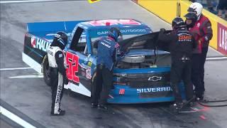 Power issue leads to lengthy stop for Stewart Friesen   NASCAR Gander Trucks at Las Vegas