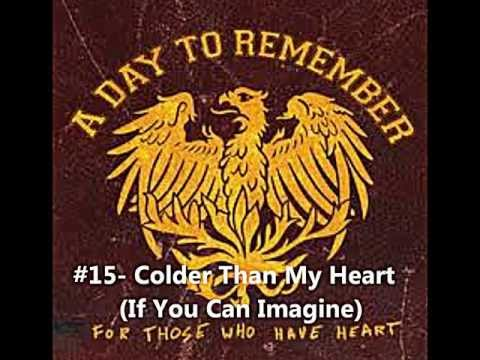 Top 20 A Day To Remember Songs