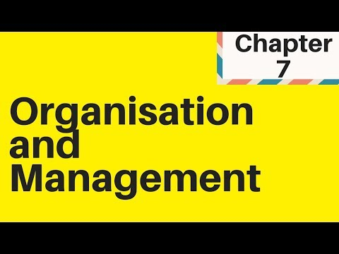 2.2 Organisation and management IGCSE Business Studies
