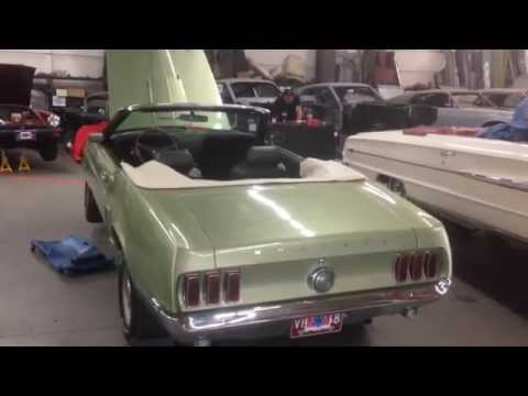 Stock Motor mounts installed Bob's 1969 Mustang GT Matching Numbers Ford Mustang - Day 173