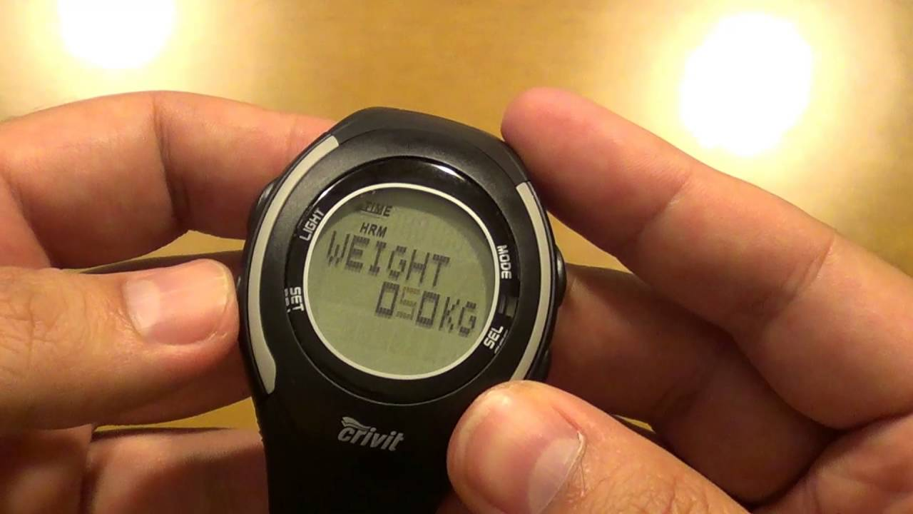 Crivit watch with heart rate monitor from LIDL (English review) - YouTube 22b7c974fc8