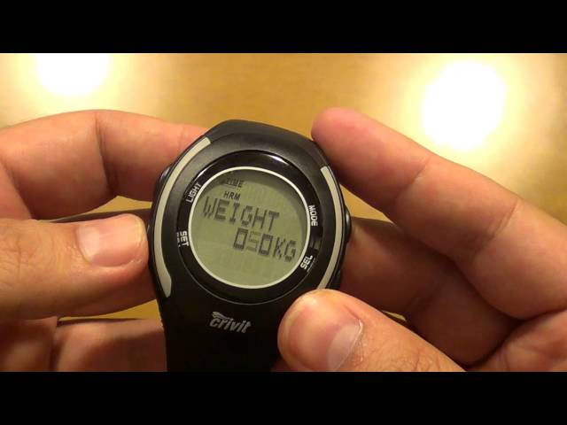 Crivit watch with heart rate monitor from LIDL (English review)