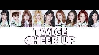 Cover images 【日本語字幕/歌詞】CHEER UP Japanese ver - TWICE (トゥワイス/트와이스)