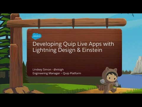 Building Quip Live Apps with the Salesforce Lightning Design System