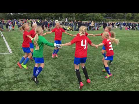 HIF U-10 piger til Vildbjerg Cup 2017