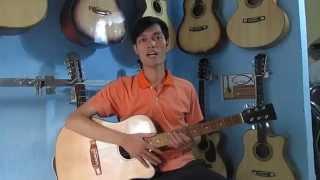 Đàn Guitar Acoustic Chuẩn cho người tập chơi | GI-HD2 | Đàn Guitar Giá Rẻ | Shop Guitar Isaac