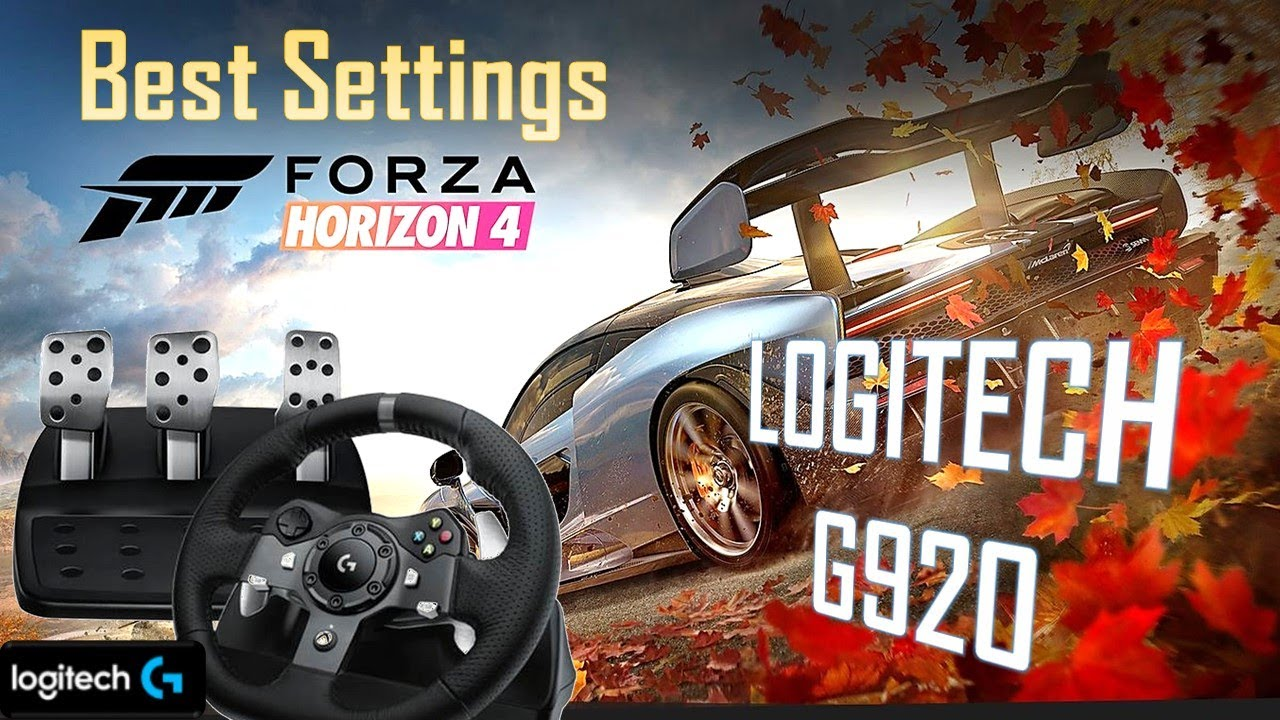 Download How to config the wheel Logitech G920? Forza Horizon 4